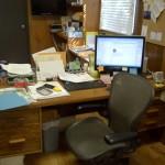 1BEFORE-Sarah's Desk