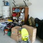 1BEFORE-Garage Back Right Corner