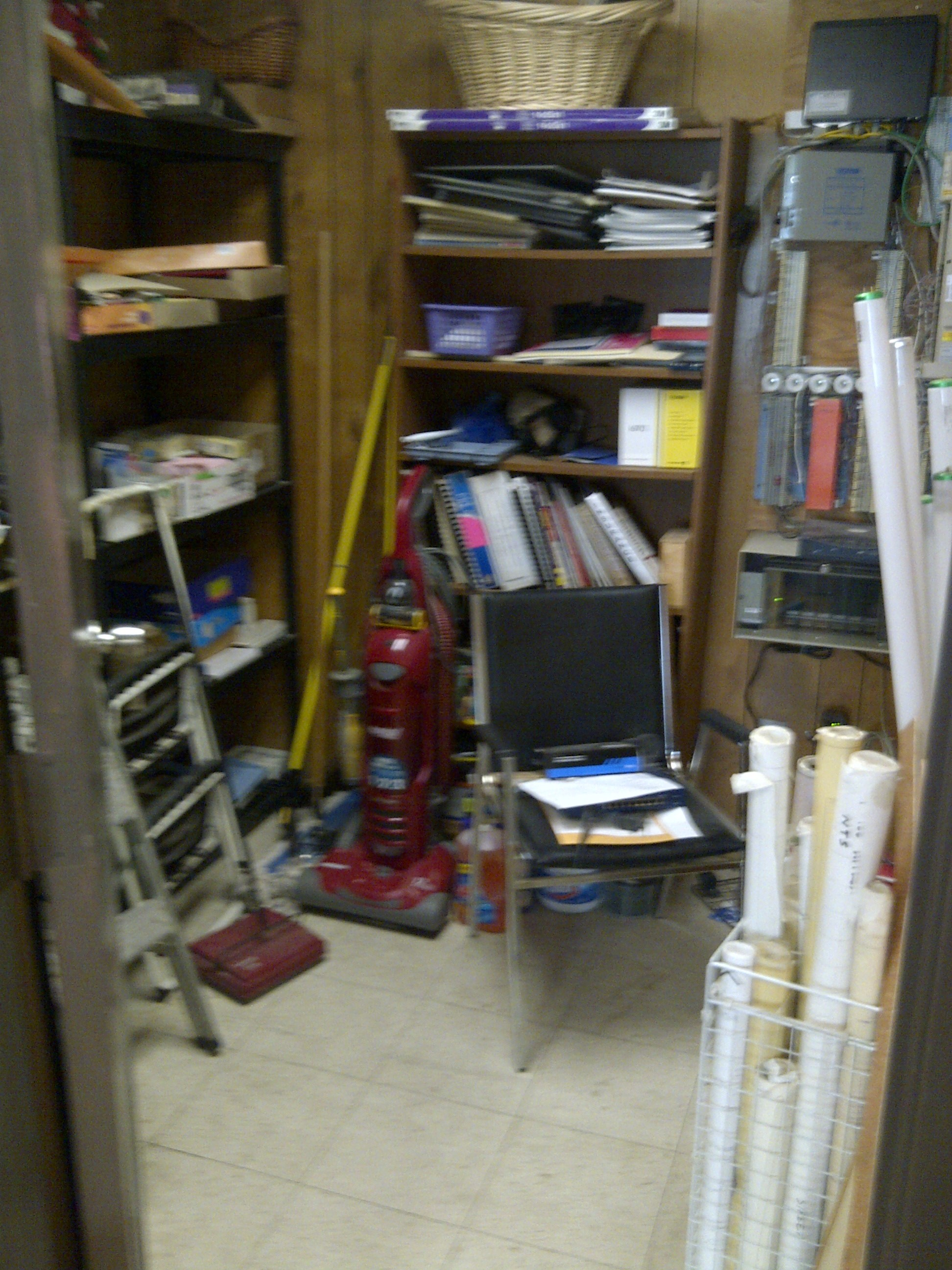 BEFORE Entrance  Office supplies Supplies Storage Room Sensible Organizing Solutions